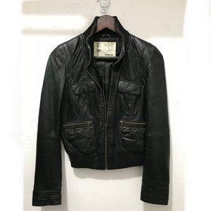 8729f106 Women Zara Genuine Leather Jacket on Poshmark